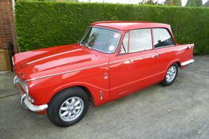 TRIUMPH VITESSE RED  Photo