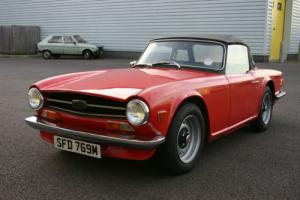 1973 Triumph TR6 - RHD UK Car - Rust Free, Excellent Mechanics, 10 months MoT