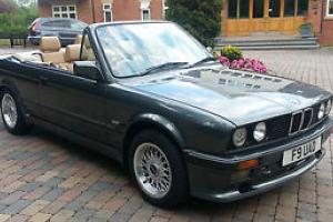 BMW E30 325 Convertible - Dolphin Grey - 1989 - Manual - BRAND NEW