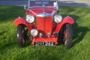MG TC - 1949  Photo