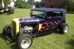 1931 Ford Hot Rod Roadster Steel Body 300HP V8 Crate Motor Auto