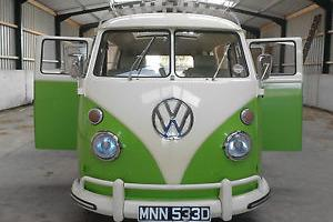 Seriously Special VW Splitscreen . Right Hand Drive, 1966