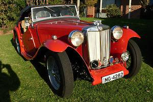 MG TC 1947 Motor Vehicle in Sydney, NSW