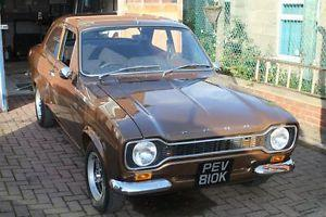 FORD ESCORT RS1600 BDA 1971