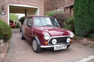 1992 ROVER MINI MAYFAIR AUTO RED