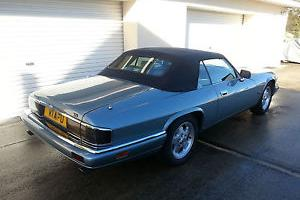 1993 JAGUAR XJ-S CONVERTIBLE 4.0LTR. AUTO. BLUE  Photo