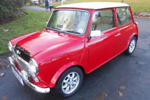 ROVER CLASSIC MINI COOPER 1275cc COLLECTORS TAX MOT MINILITES ROLL CAGE LEATHER