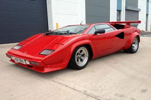 Lamborghini Countach Prova Sport Kit car Replica Correctly Registered