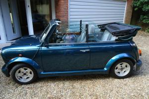 Rover Mini 1.3i Cabriolet with Cooper Engine