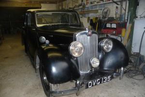 Lea Francis 14hp 4 light coachbuilt saloon 1949.Low mileage rare original car