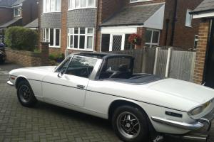 1973 TRIUMPH STAG AUTO WHITE  Photo