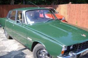 ROVER 3500 P6 AUTO 1971 CAMERON GREEN RECENT BODY RESTORATION