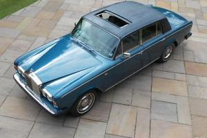 1980 ROLLS ROYCE SILVER SHADOW II with sun roof