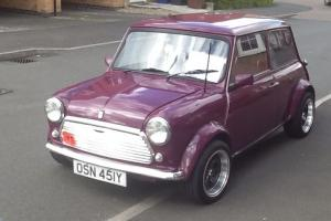1983 AUSTIN MINI MAYFAIR PURPLE