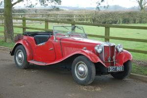 MG TD II with Jaguar 2.4 Engine and running gear