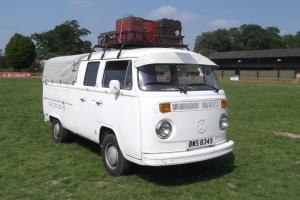 1978 VW CREWCAB PICKUP BAYWINDOW,LHD. CAMPER,BEETLE,SPLITSCREEN BARGAIN.