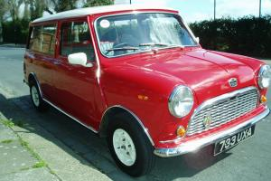 1963 AUSTIN MINI TRAVELLER ESTATE  Photo