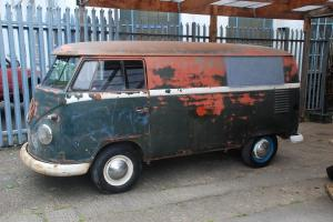 VW 1960 T2 Split Screen Panel Van LHD USA Import