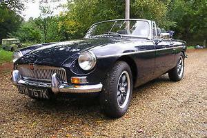 MGB ROADSTER CHROME BUMPER TAX EXEMPT 1972