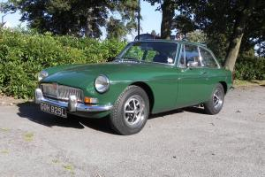 1973 MG B GT CHROME BUMPER