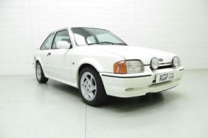 A Sensational Escort RS Turbo with Just Three Owners and 42,922 Miles from New