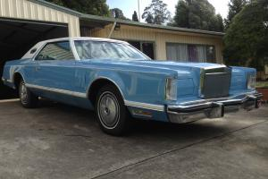 1978 Lincoln Continental MK5 Classic Coupe 460 V8 in Barwon, VIC