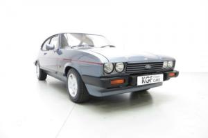 A Dazzling Ford Capri 2.8 Injection Special with Just 24,844 Miles From New  Photo