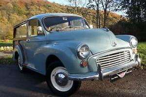 1961 Morris Minor Traveller, refurbished recently by enthusiast, Nice early car