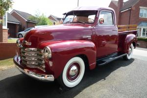 1949 Chevrolet 3100 Pick up Truck 1/2 ton 60k miles Restored and Beautiful