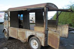 Citroen h van split screen,1950,catering van.hy van,retro catering,flower seller