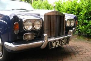Rolls-Royce Silver Shadow 2 Door Coupe. MPW. 1968.  Photo