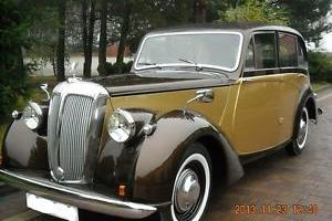 DAIMLER DB18 , SALOON , OLDTIMER Bj. 1952 , MOTOR 2522CC, PRESELECTION GETRIEBE