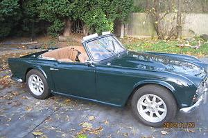 TRIUMPH TR4 GREEN 1962 with overdrive  Photo