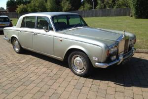 1976 Silver Shadow. Only 74,000 miles. History and Long MOT