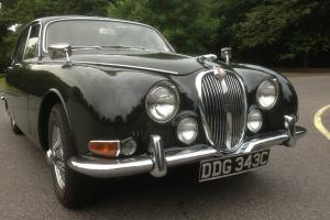 1965 JAGUAR S TYPE GREEN BEAUTIFUL