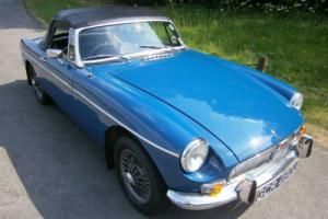 MGB MG B 1.8 Twin SU Carbs Sports Roadster 1972 L Manual/Overdrive Convertible