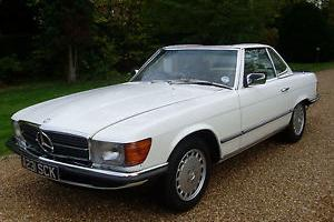 MERCEDES 500 SL AUTOMATIC - 1984/A REG -STUNNING LOOKING CAR