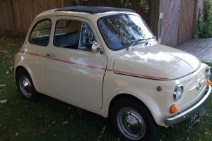 FIAT 500F Classic, Beige, Rare RHD with round style speedo, very collectable