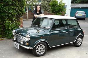 Ex Japan auto Rover 1.3i Mini Cooper, BRG, low mileage, NO RUST