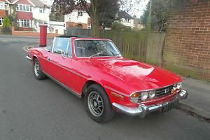 1793 ROVER V8 POWERED TRIUMPH STAG AUTO