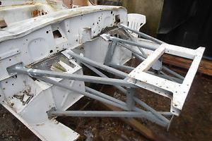 E-type series 2 chassis frames with a current V5c for a RHD 2