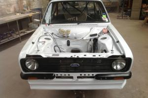 FORD ESCORT MK2 GRP 4 RALLY CAR SHELL, RS, GROUP 4, MK1, MEXICO  Photo