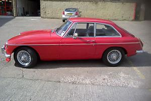 MGB GT 1.8 (Weber 45 DCOE conversion 1970 Chrome Bumper Model)