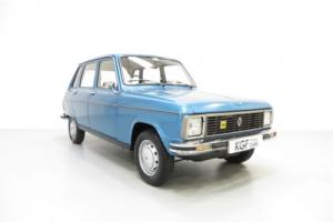 An Endearing, Stylish and Very Rare Renault 6TL with Only 24,620 Miles