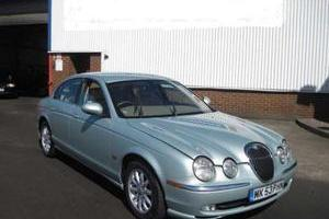 JAGUAR S-TYPE 3.0 SE V6 AUTO 240 BHP SEAFROST 74K 2 OWN  Photo