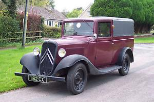 1937 Citroen BOULANGERIE Van Extreemly rare, find me another