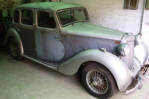 Rare Vintage MG YA 1952 Saloon Restoration Project Classic Car suit enthusiast