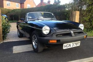 MG MGB roadster black