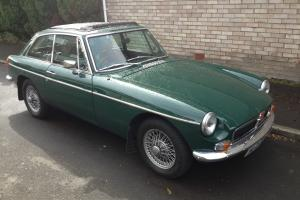 1978 MG B GT BRITISH RACING GREEN