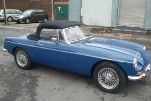 1968 MG ROADSTER BLUE  Photo
